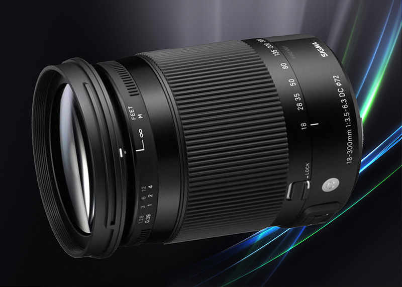 Sigma 18-300mm F3,5-6,3 DC Macro OS HSM Contemporary